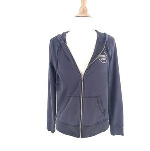 Victoria's Secret Sport Black Full Zip Hoodie